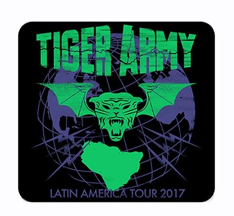 Tiger Army - Latin America 2017 [Adesivo]