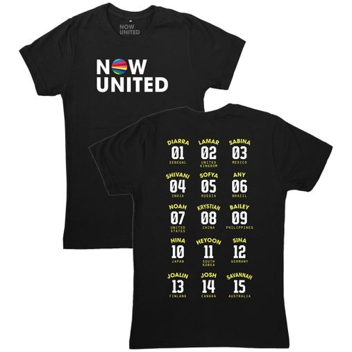 Now United - Classic Logo [Camiseta Preta]