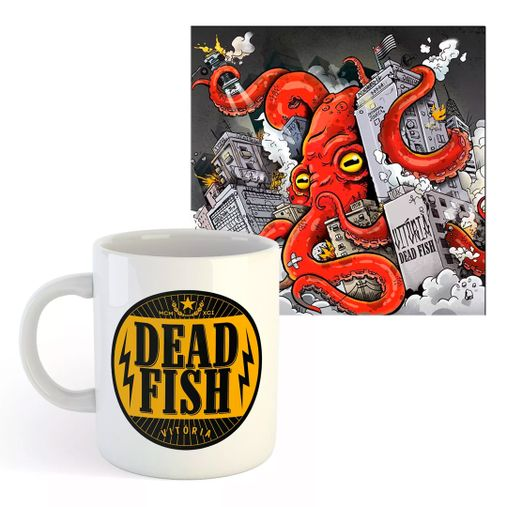Combo: Dead Fish - Vitória Caneca + CD