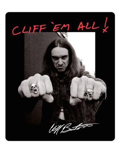 Cliff Burton - Fists [Adesivo]
