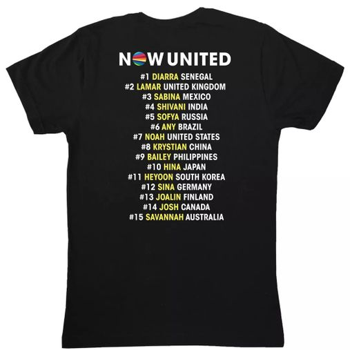 Now United - Song List