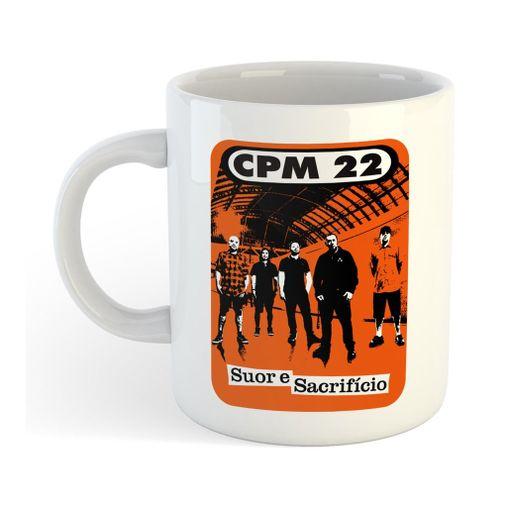 CPM 22 - Suor e Sacrifício [Caneca]