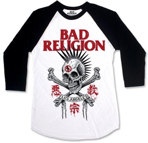 Bad Religion - Tokyo Skull [Raglan 3/4]