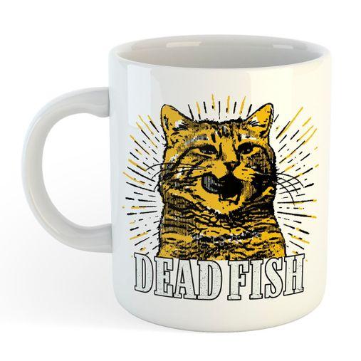 Dead Fish - O Gato [Caneca]