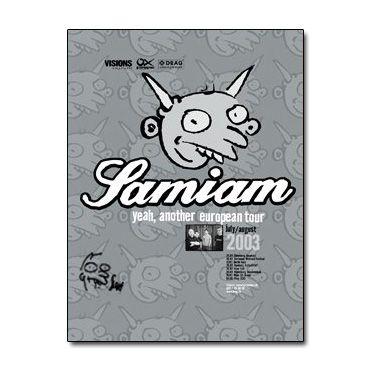 Samiam - Yeah, Another European Tour [Poster Autografado]