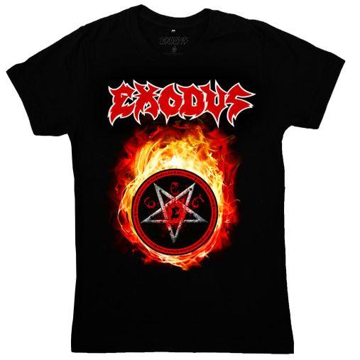 Exodus - Fireball [Camiseta Importada]