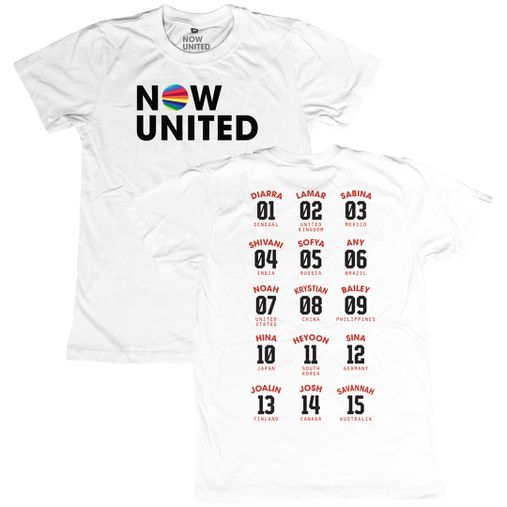 Now United - Classic Logo [Camiseta Branca]