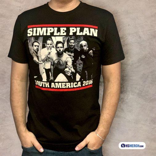 Simple Plan - South America 2016 [Importada Perú]