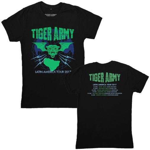 Tiger Army - Latin America Tour 2017