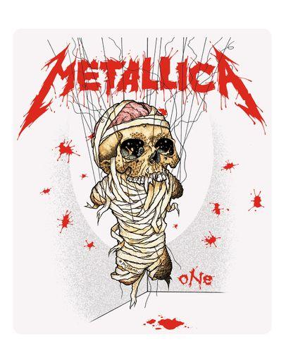 Metallica - One [Adesivo]