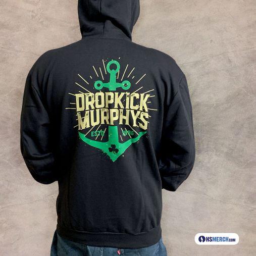 Dropkick Murphys - Anchor [Moletom Zíper]