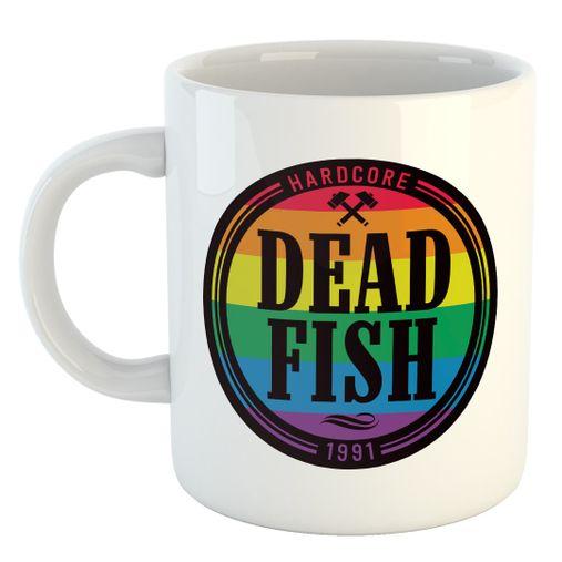 Dead Fish - Rainbow [Caneca]
