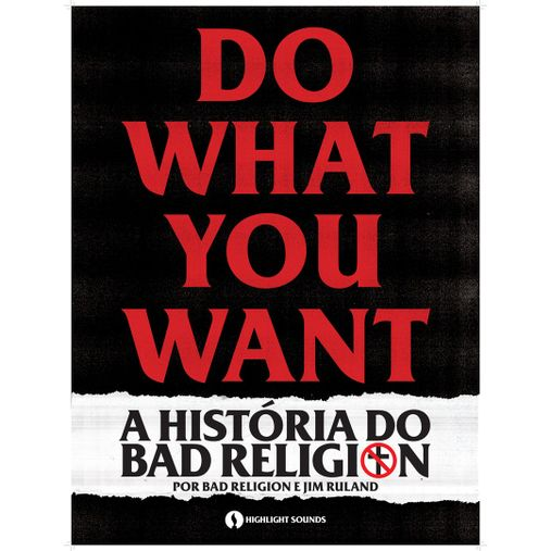 Bad Religion - Do What You Want [Pôster c/ Tubo]