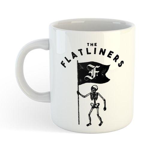 The Flatliners - Skeleton Flag [Caneca]