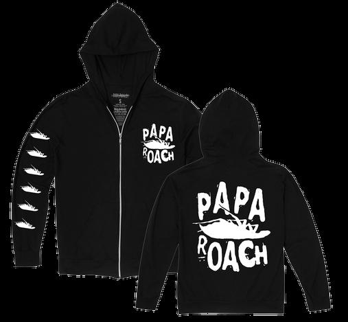 Papa Roach - Classic Logo [Moletom Importado]