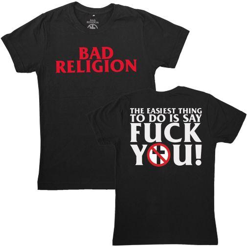 Bad Religion - The Easiest Thing To Do [Preta]