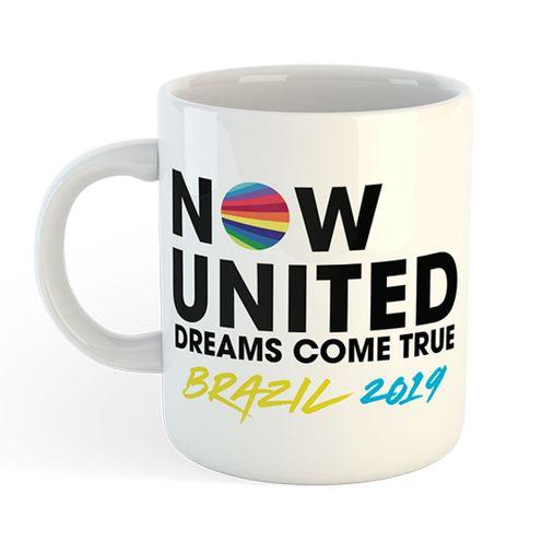 Now United - Dreams Come True Brazil 2019 [Caneca]
