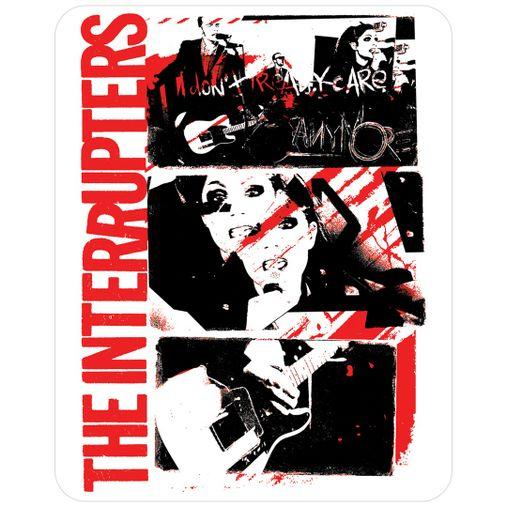 The Interrupters - Don't Care [Adesivo]