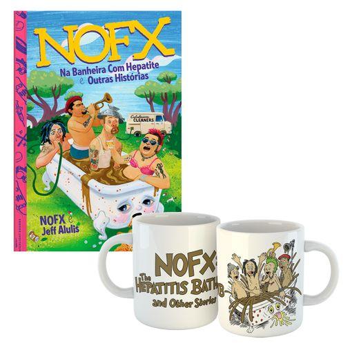 Combo: NOFX - Na Banheira Com Hepatite e Outras Histórias + Caneca