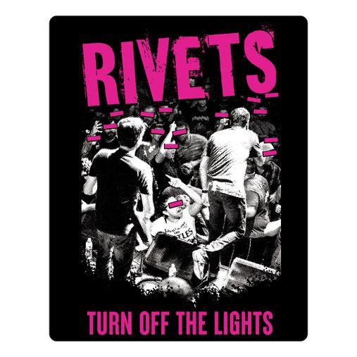 Rivets - Turn Off The Lights [Adesivo]