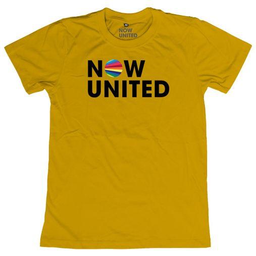 Now United - Classic Logo [Camiseta Amarela]