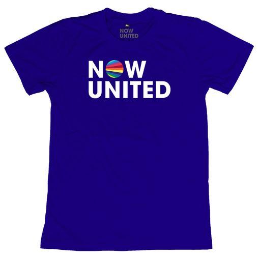 Now United - Classic Logo [Camiseta Azul]
