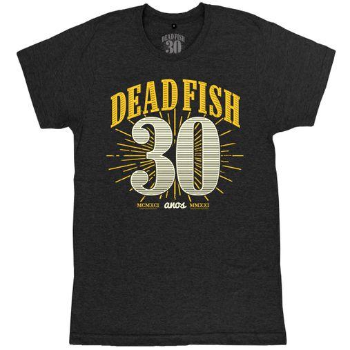 Dead Fish - Selo 30 Anos [Cinza Mescla Escuro]