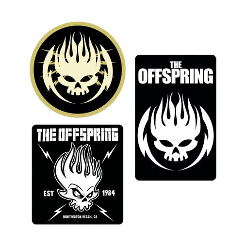 The Offspring - Sticker Pack Tour 2019 [Adesivos]