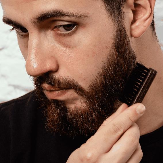 Conjunto Escova e Pente para Barba