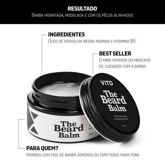 Kit Conjunto Cuidar da Barba