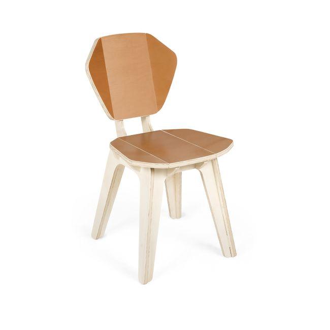 Cadeira Pétala CB Caramelo