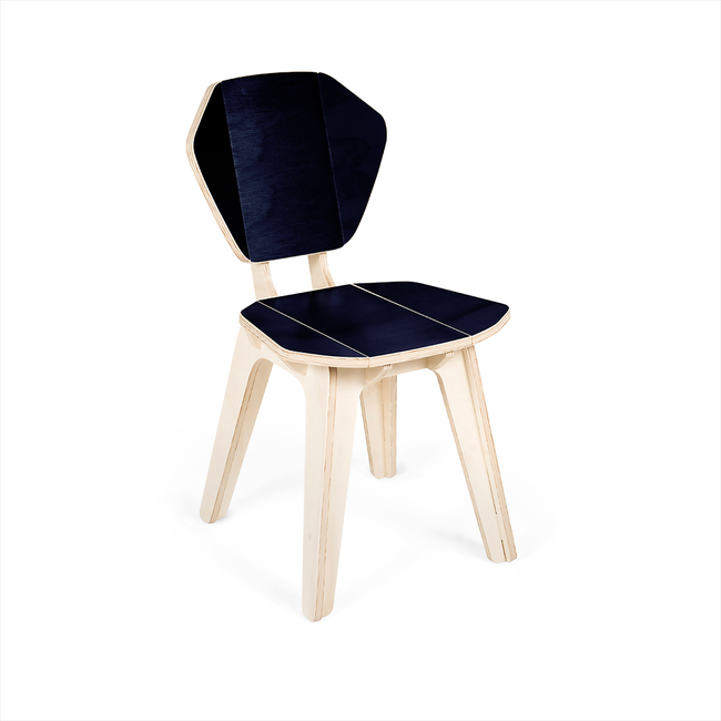 Cadeira Pétala CB Azul Tropical