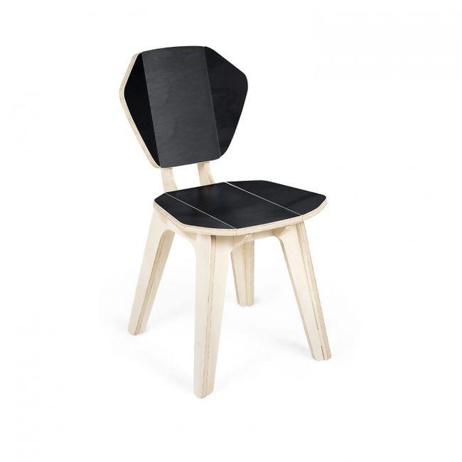 Cadeira Pétala CB Preta