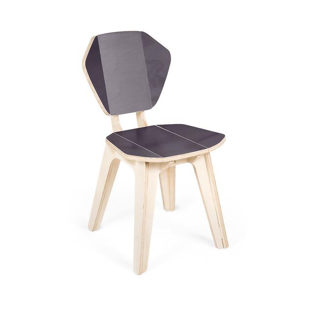 Cadeira Pétala CB Cinza