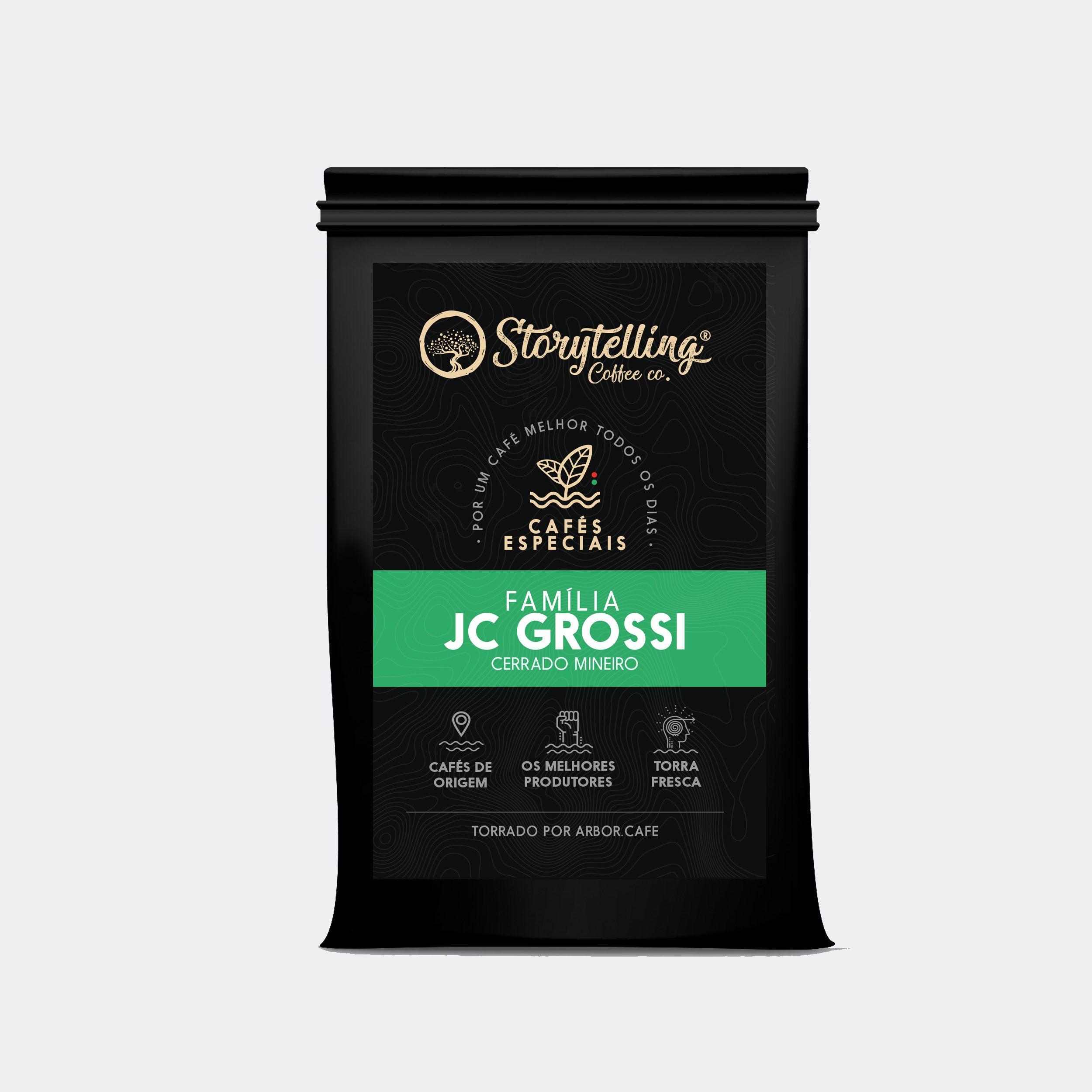 Café JC GRossi, 250g em grão, Storytelling Coffee