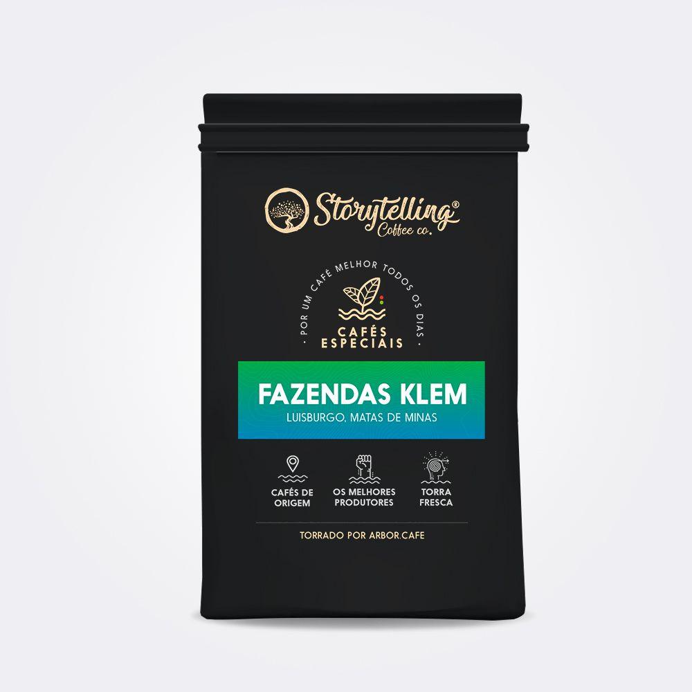 250g Storytelling Coffee  Especial do Mês - Fazendas Klem
