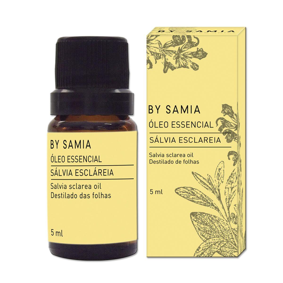 Óleo Essencial de Sálvia Escláreia 5ml By Samia