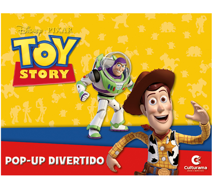 Pop-Up Divertido Toy Story