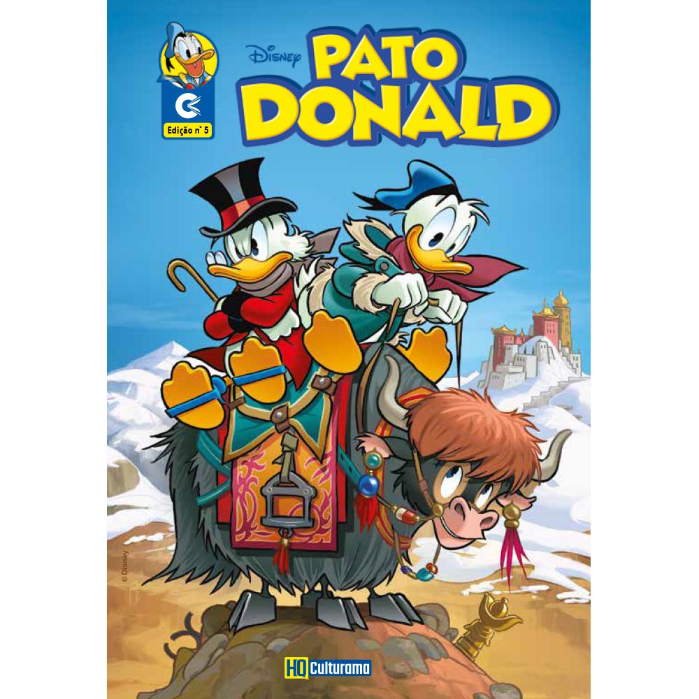 Histórias em Quadrinhos Pato Donald Edição 5