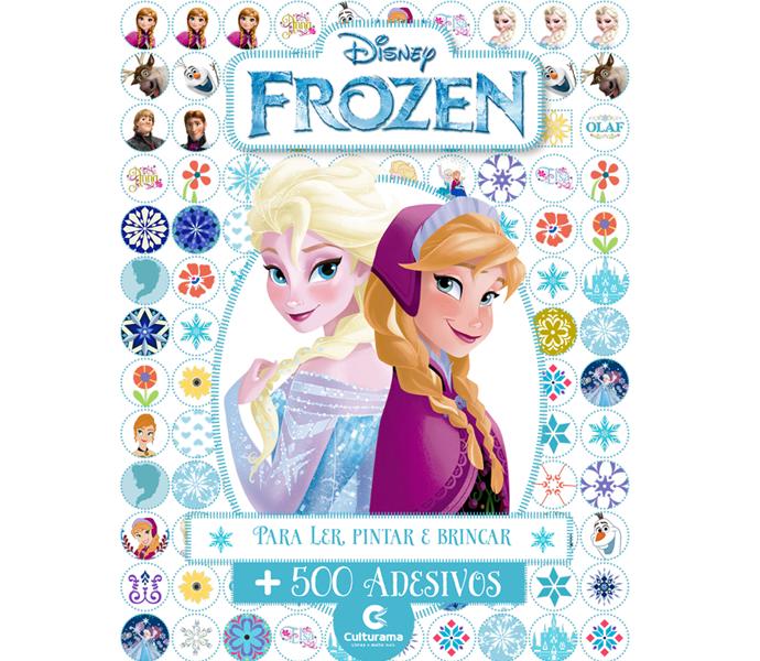 500 Adesivos Disney Frozen