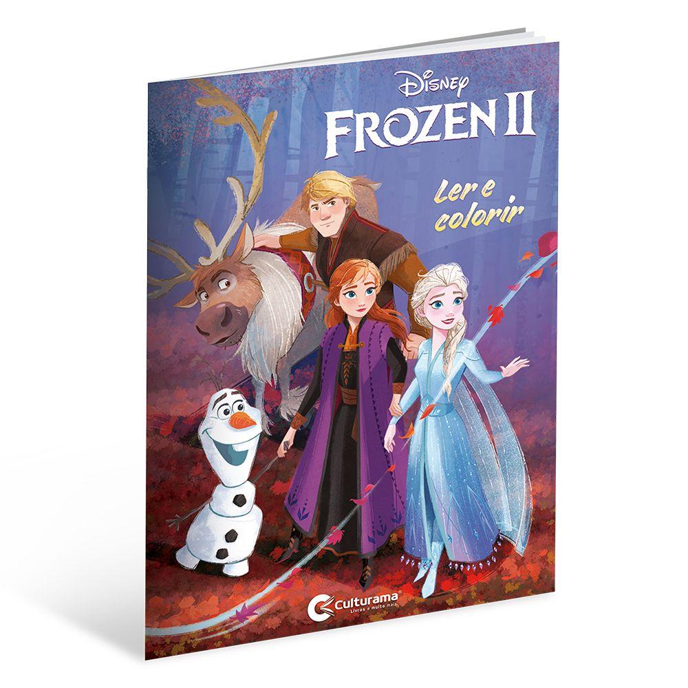 Ler e Colorir Frozen 2