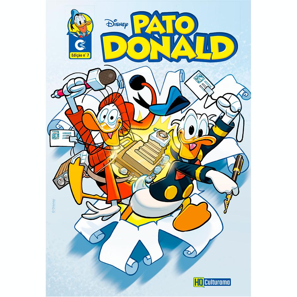 Histórias em Quadrinhos Pato Donald Edição 7