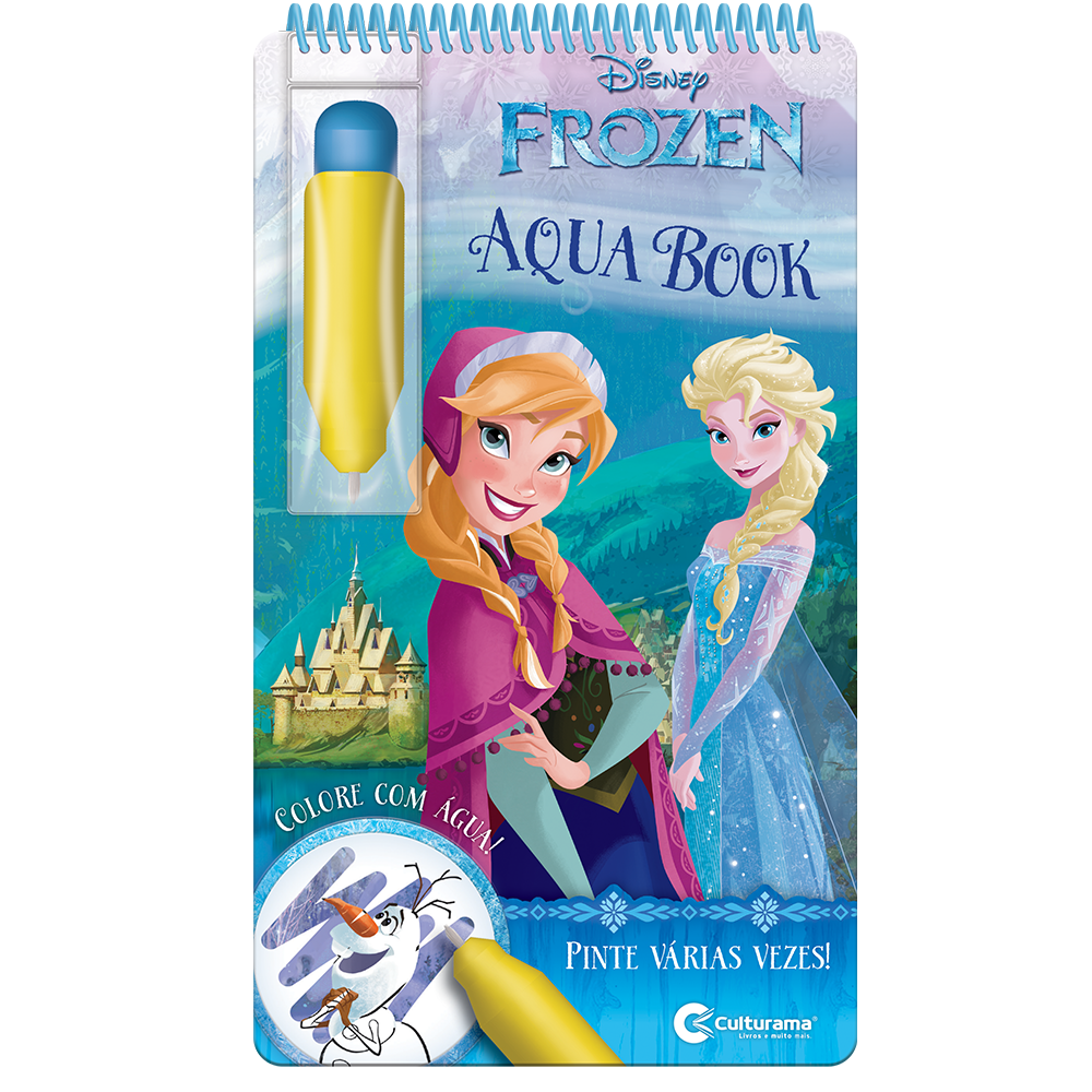 Aquabook Frozen