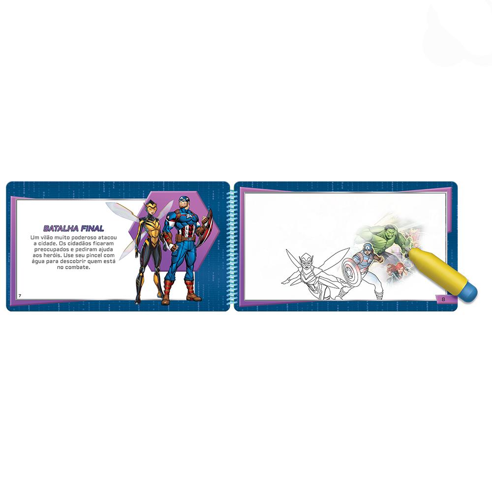 Aquabook Vingadores