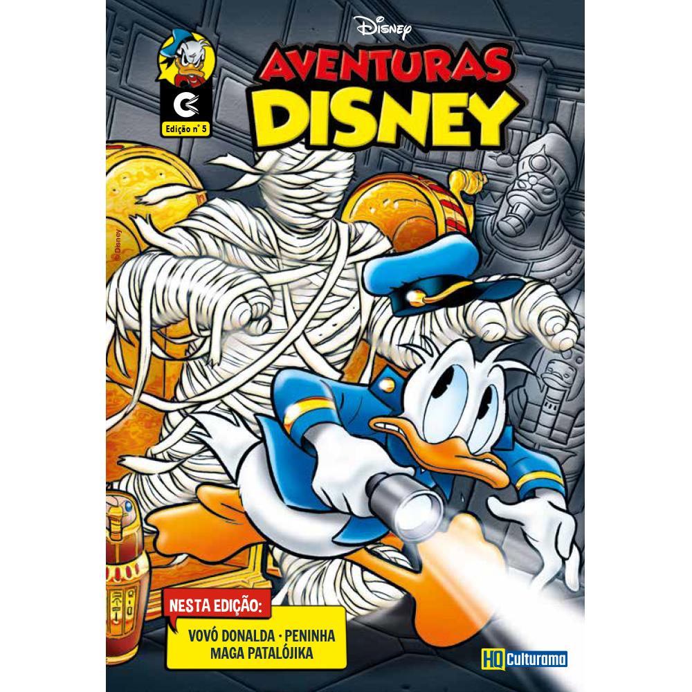 Histórias em Quadrinhos Aventuras Disney Edição 5
