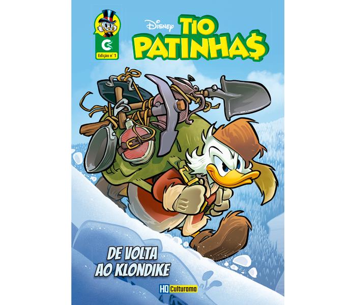 Histórias em Quadrinhos Tio Patinhas Edição 1