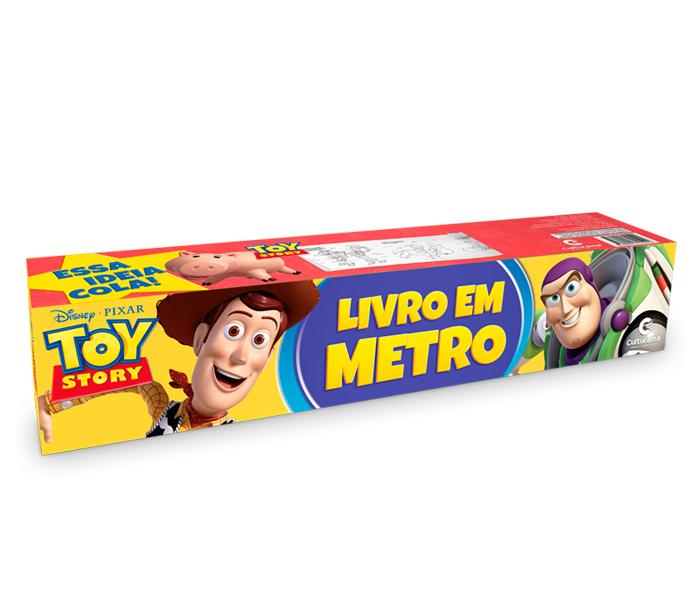 Livro em Metro Toy Story