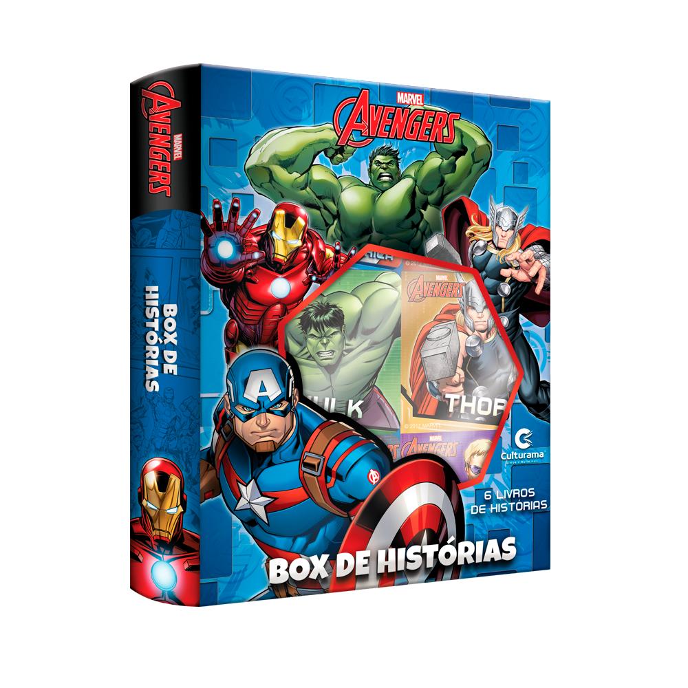 Box de Histórias Os Vingadores