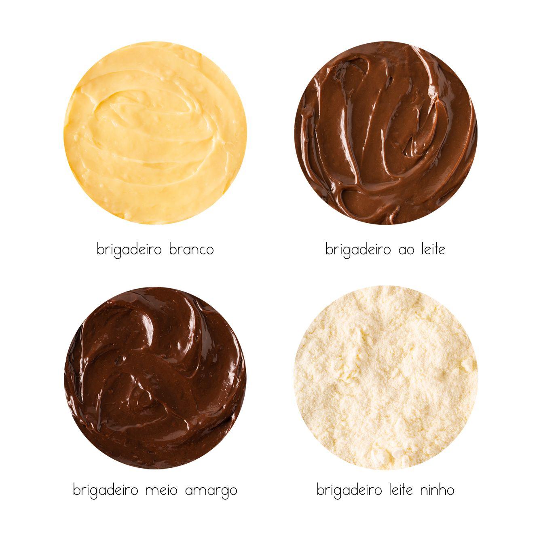 Bolo Brigadeiro com Nutella