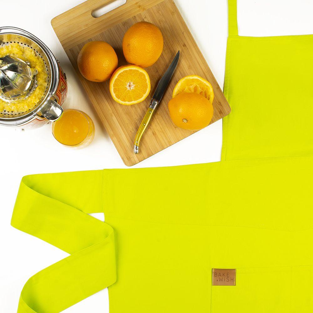 Avental Verde Limão